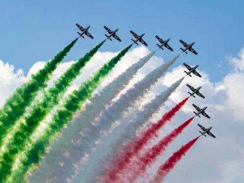 LO SHOW DELL'ITALIA CHE SA VOLARE