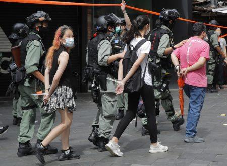 NO CINA, LA RIVOLTA USA NON E' QUELLA DI HONG KONG