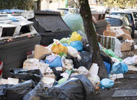 ROMA, LA GRANDE MONNEZZA